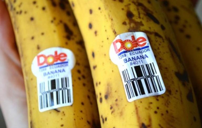 Всегда ищите наклейки на бананах!